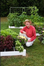 Gardening by the square foot book